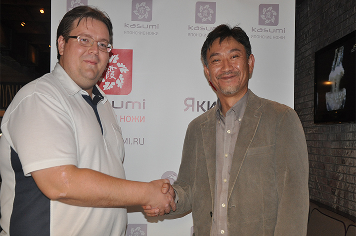Алексей Стаховский на встрече с президентом компании Masahiro господином Кодзи Хаттори