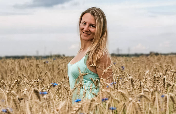 Юлия Чемердовская. Фото с личной страницы на Facebook
