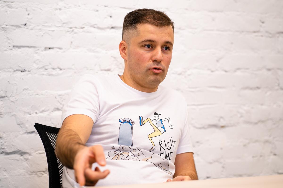 Максим Пернатий. Фото: Дарья Гращенкова, probusiness.io