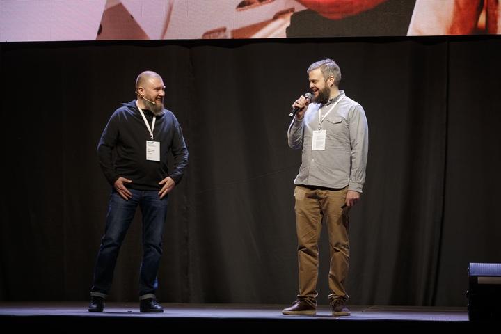 Дмитрий Акишкин и Борис Акимов. Фото: Павел Поташников, probusines.by