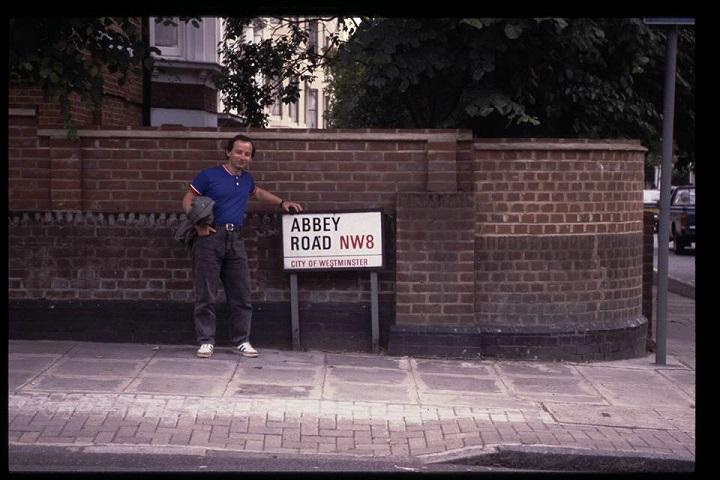 Та самая Abbey Road. 1991. Фото из личного архива Леонида Лознера