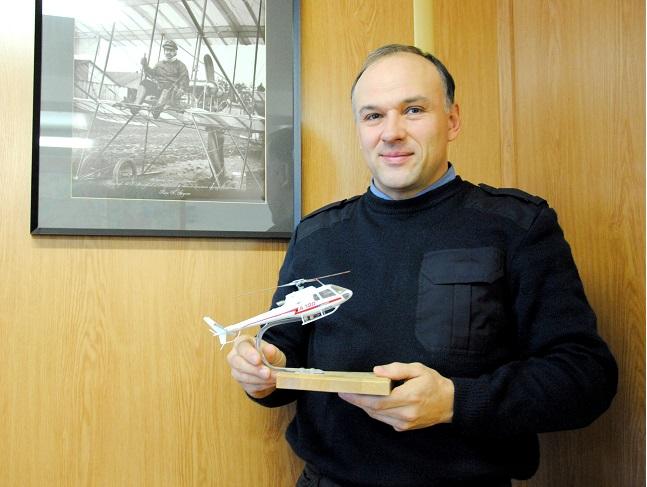 Дмитрий Матковский, летный директор «Авиа-100». Фото автора