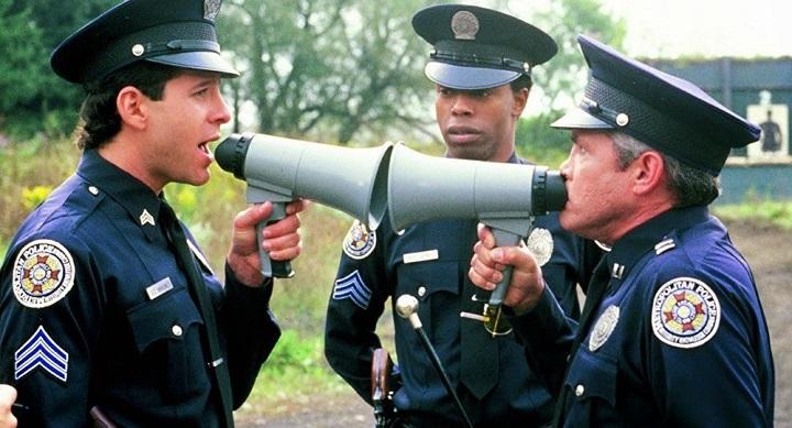 Кадр из фильма «Полицейская академия». Фото с сайта: sputnik.by