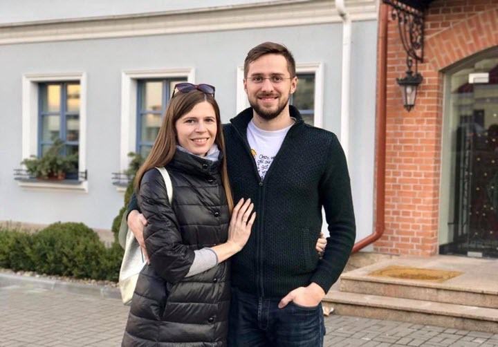 Светлана и Евгений Данилики. Фото со страницы Евгения в Facebook