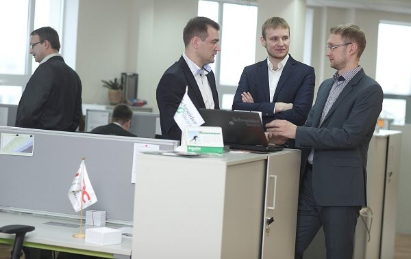 Офис представительства в Минске. Фото предоставлено компанией Schneider Electric