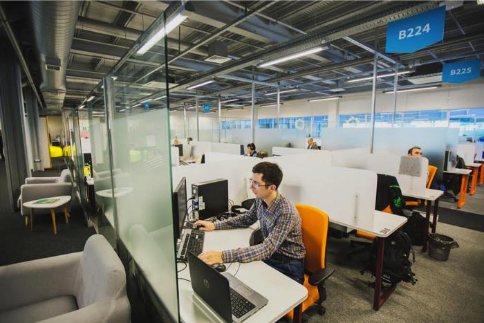 Один из офисов EPAM. Фото с сайта dev.by