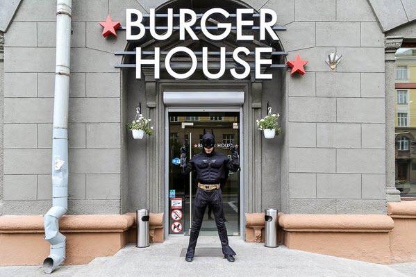 Фото со страницы BURGER HOUSE ВКонтакте