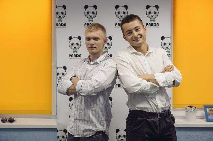 Иван Ковалевский (справа) и Артур Барабанов. Фото из личного архива