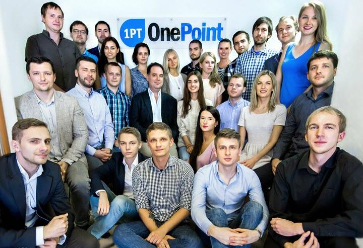 Команда One Point. Фото из личного архива