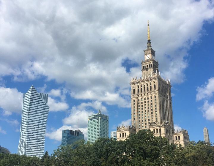 Варшава, фото предоставлено героиней материала