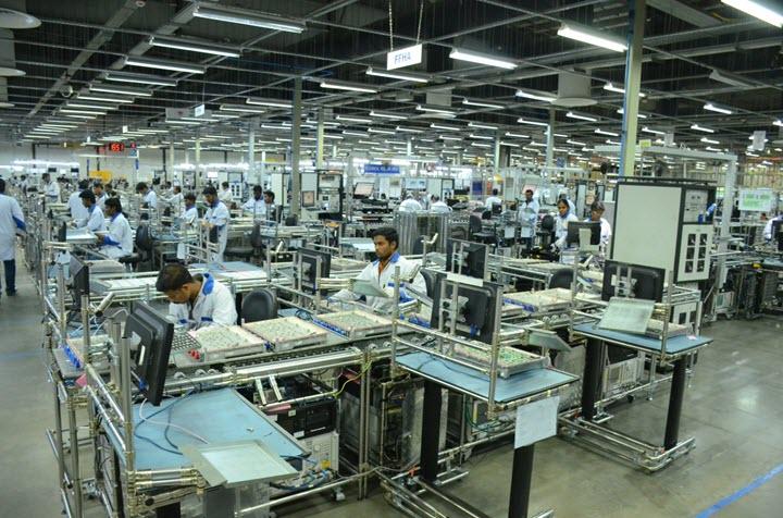 Производство Nokia в Индии. Фото с сайта anandtech.com