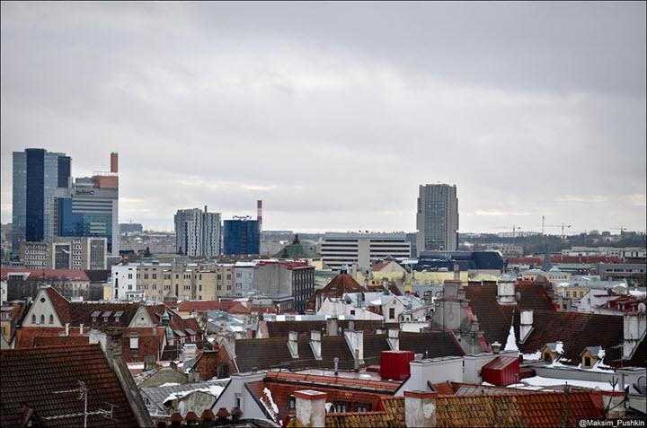 Таллин. Фото с сайта citytowers.ru