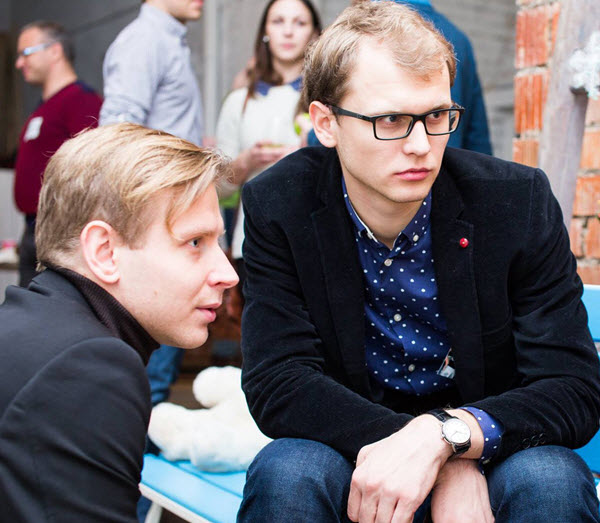 Максим Каменков (слева) и Евгений Невгень. Фото с сайта kyky.org
