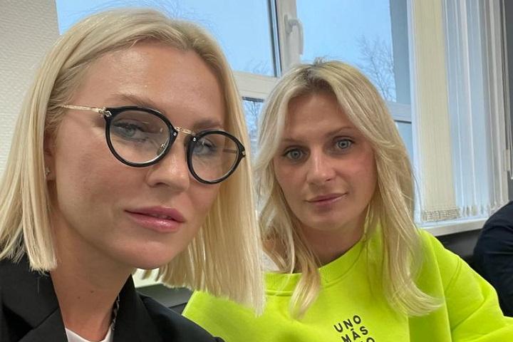 Юлия Медник и Татьяна Лавренова. Фото из личного архива