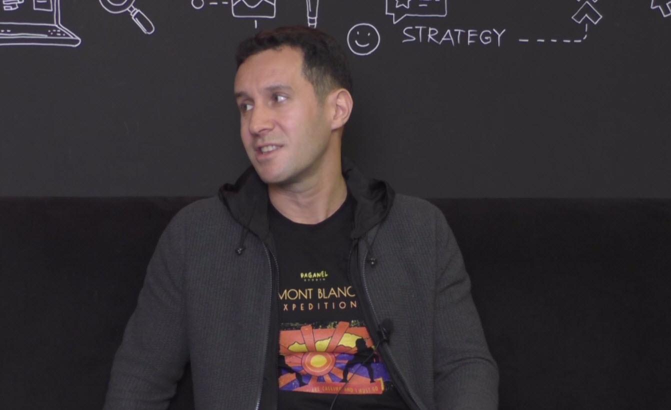 Кирилл Волошин. Скриншот из видеозаписи вебинара