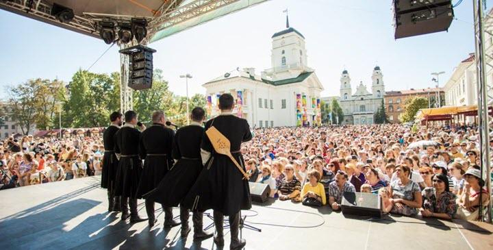 Тбилисоба в Минске. Фото с сайта euroradio.fm