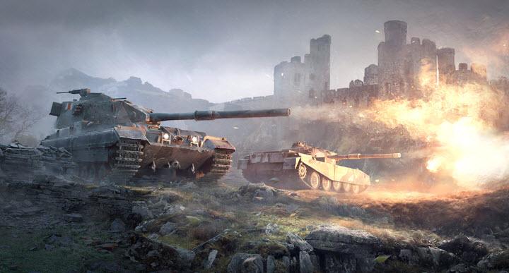 Скриншот из игры World of Tanks. Источник games-vip.ru