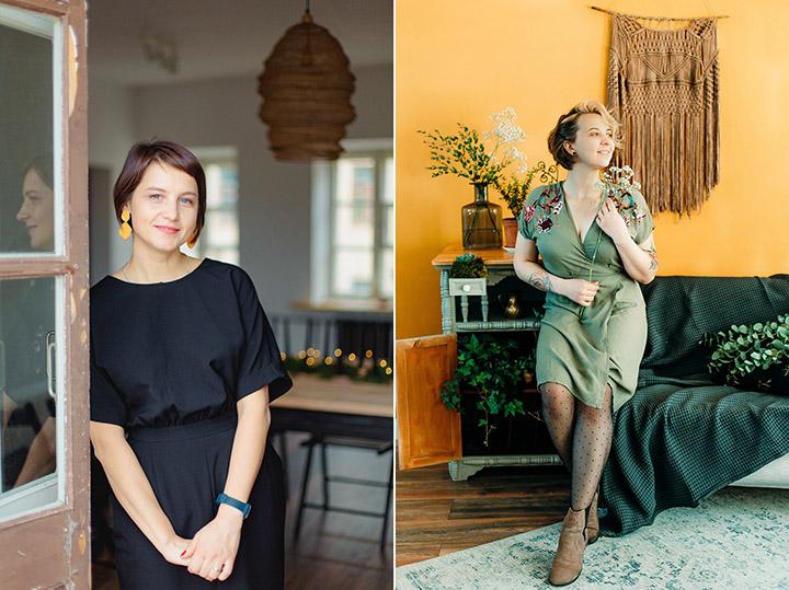 Оксаана Есиповская и Инна Мельникова. Фото предоставлены авторами