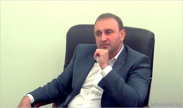 Председатель правления Абсолютбанка Борис Чередник, руководит банком более 10 лет