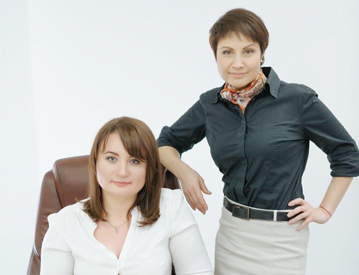Ольга Иваненко и Наталия Крашевская. Фото из личного архива
