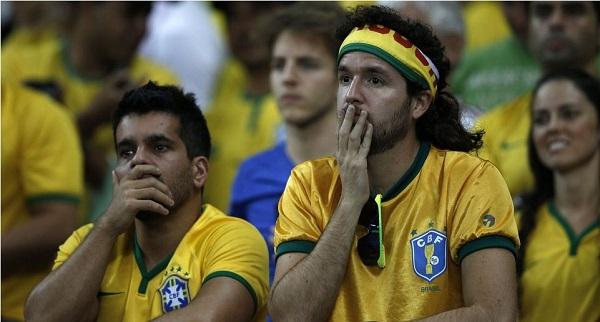 Матч между Германией и Бразилией, июль 2014. Фото с сайта 5min.by