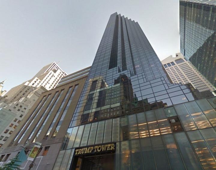 Головной офис компании — 56-этажном небоскребе Trump Tower. Фото с сайта kinja-img.com