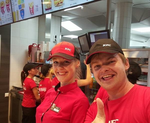 Фото со страницы KFC Беларусь на Facebook