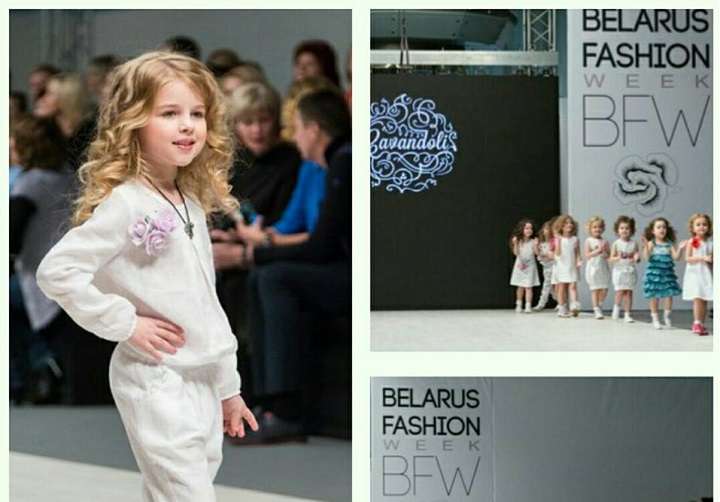 Показ коллекции на CAVANDOLI «Kids' Fashion Days BFW». Фото со страницы в Facebook