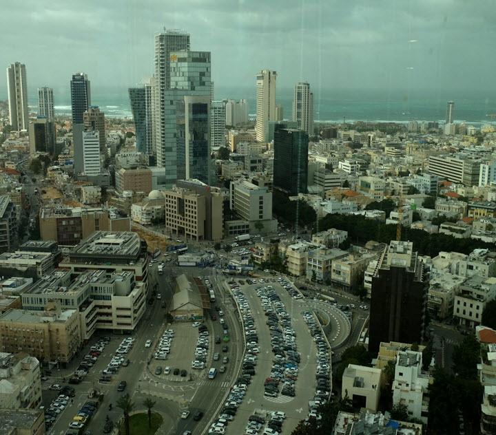 Вид из окна офиса SimilarWeb. Фото: Евгения Чернявская