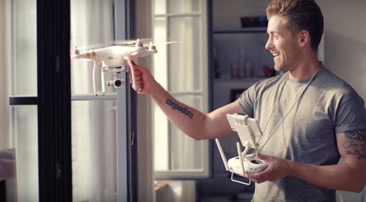 Скриншот из рекламного видеоролика