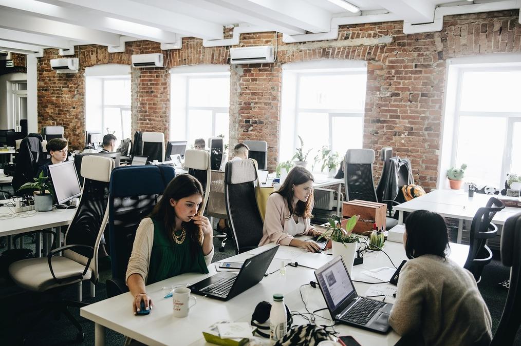 Офис Skyeng. Фото с сайта moikrug.ru