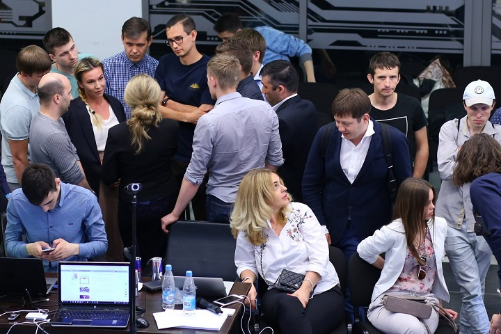 Во время одного из митапов в Москве митап на тему инвестиций в криптовалюту для физических и юридических лиц. Фото с сайта iownboss.ru