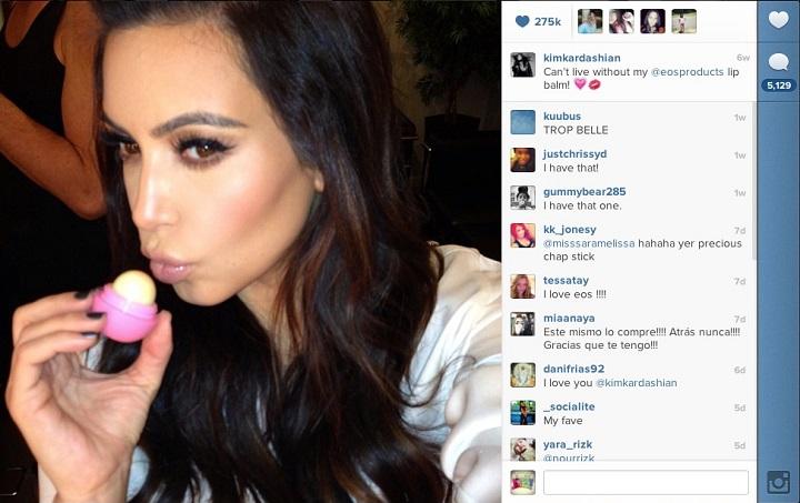 Фото со страницы Kim Kardashian в Instagram