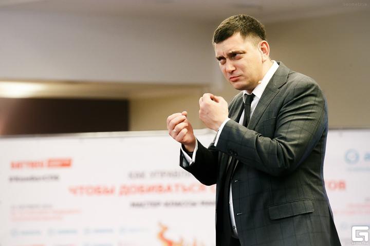 Максим Батырев. Фото с сайта geometria.org.ua