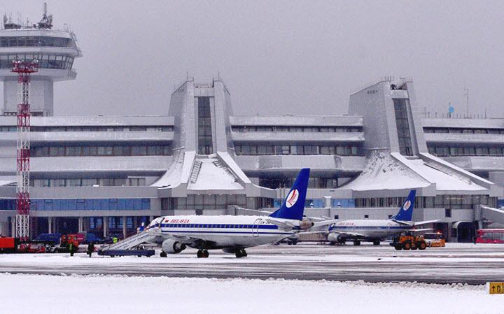 """Аэропорт """"Минск-2"""". Фото с сайта sputnik.by."""