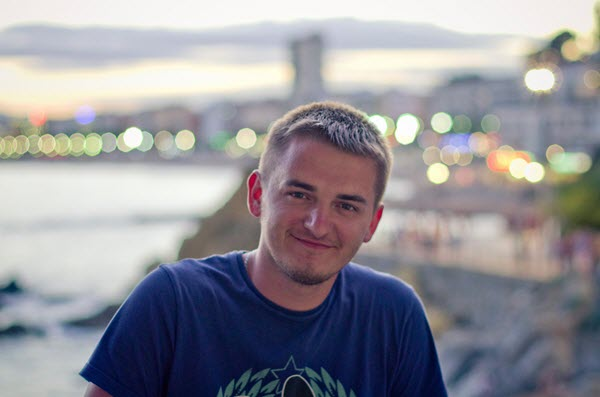 Виталий Михайловский. Фото со страницы Виталия в Facebook