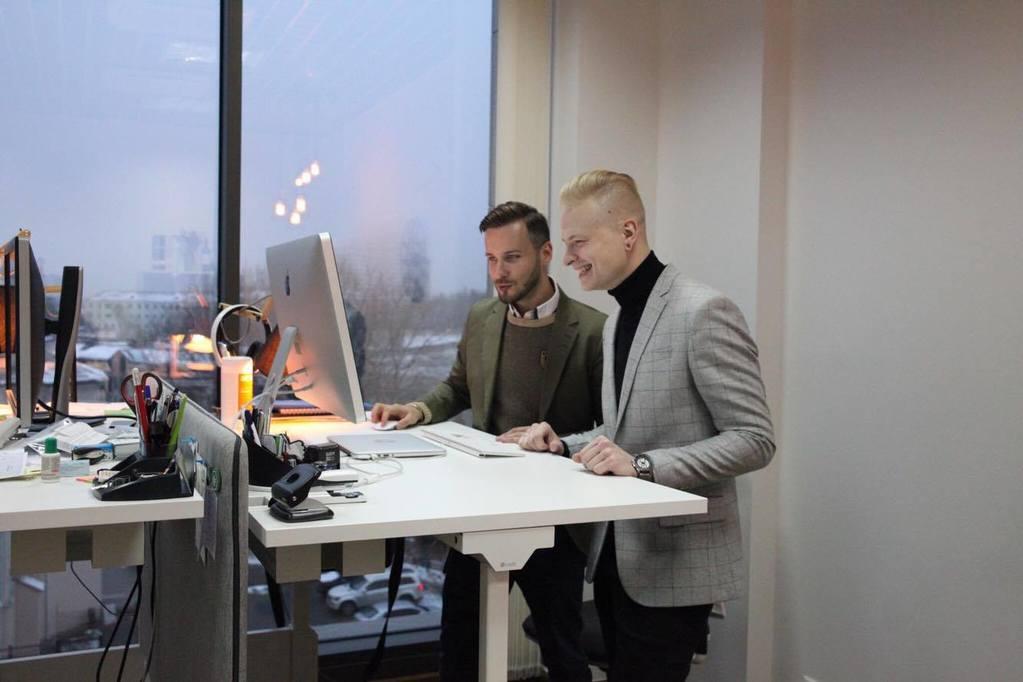 Михаил Сендер и Артем Рабцевич. Фото из архива компании