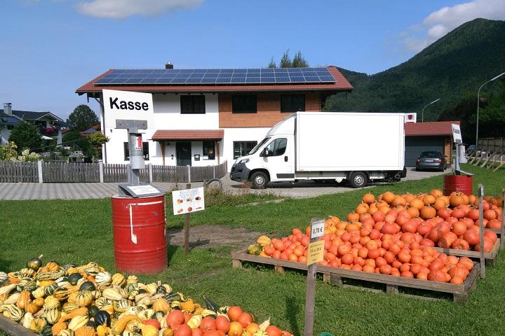 Фермерский магазин без продавца в Германии. Фото: Наталья Макей