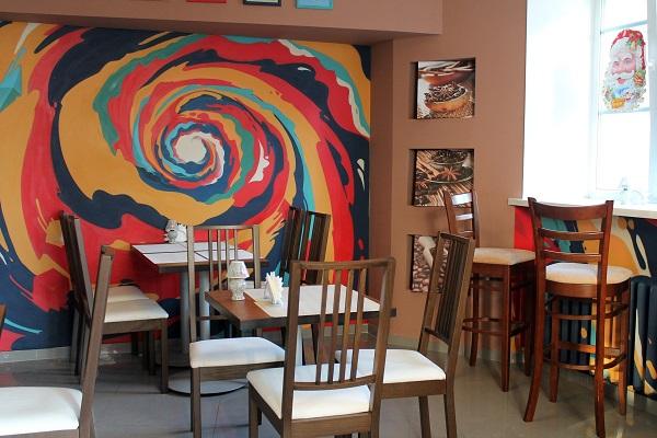 Интерьер «Old&Young coffeehouse and bar». Фото Ирины Гордиенко