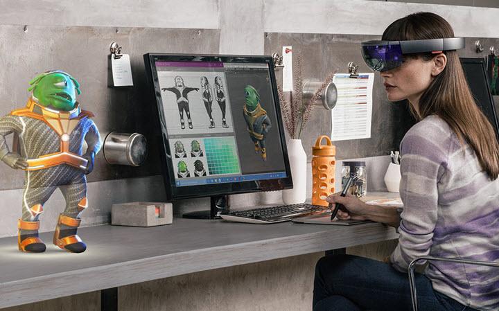 Очки Microsoft Hololens. Фото с сайта rampaga.ru