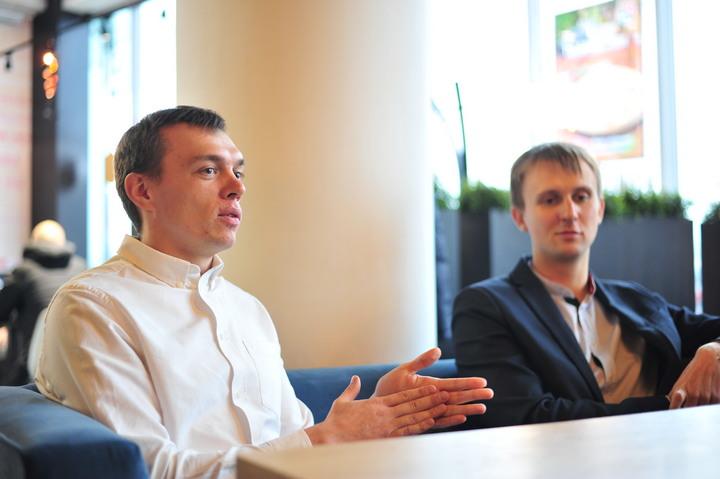 Максим Горбиков и Дмитрий Дылевич. Фото: Артем Герасимович, probusiness.io