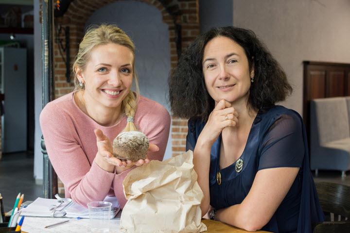 Наталья Чавко и Юлия Храленкова. Фото из личного архива