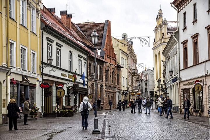 Литва, Вильнюс. Фото с сайта chukhlomin.ru