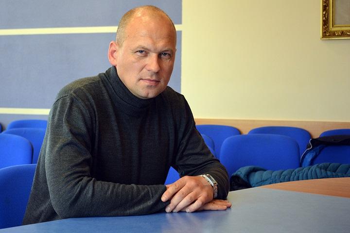 """Андрей Канашук. Фото из архива компании """"БелТрансСпутник"""""""