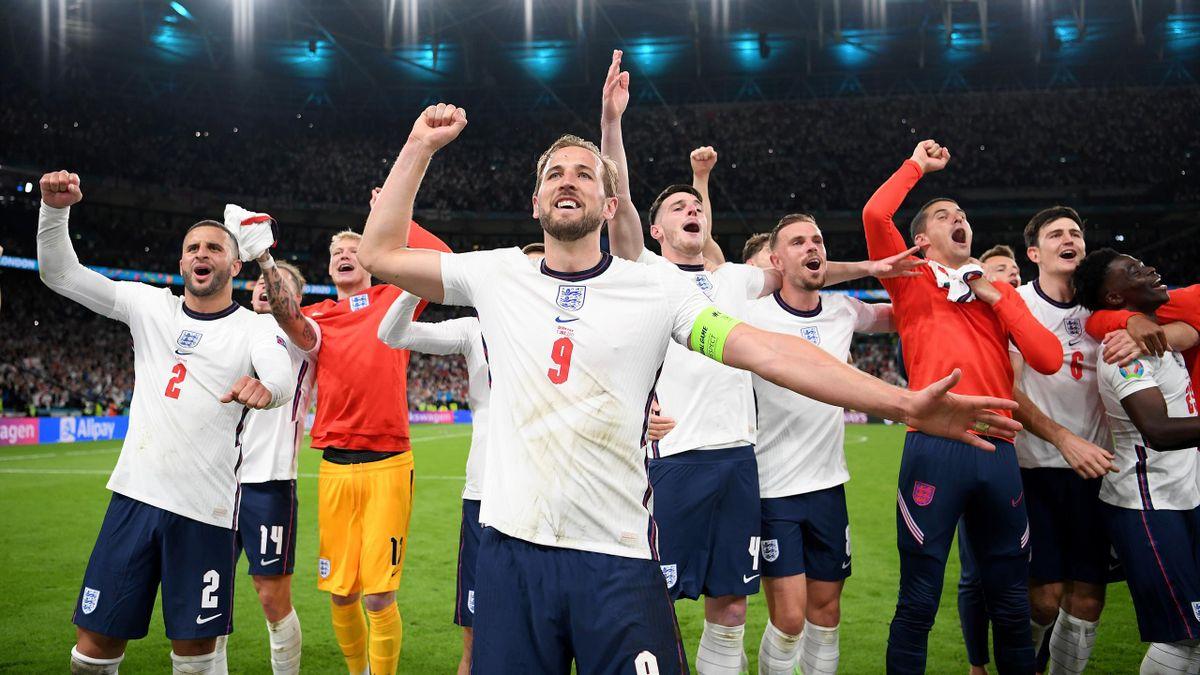 Харри Кейн, Англия – Дания, Евро-2020 Фото с сайта Getty Images