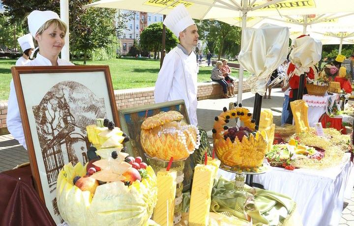 Сырный фкстиваль в Гродно. Фото с сайта grodnonews.by