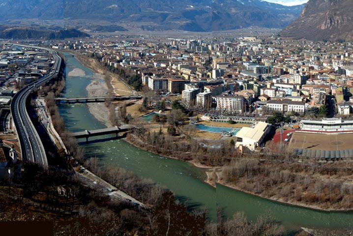 Панорама Больцано (Южный Тироль). Фото с сайта techstars.com