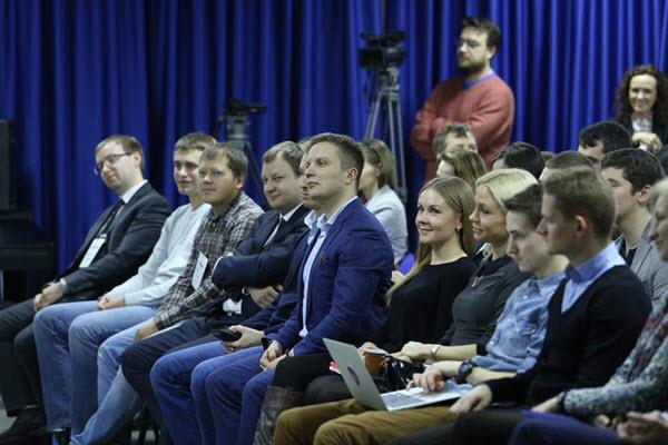 """Встреча Про бизнес.» Фото Вадим Замировский, TUT.BY"