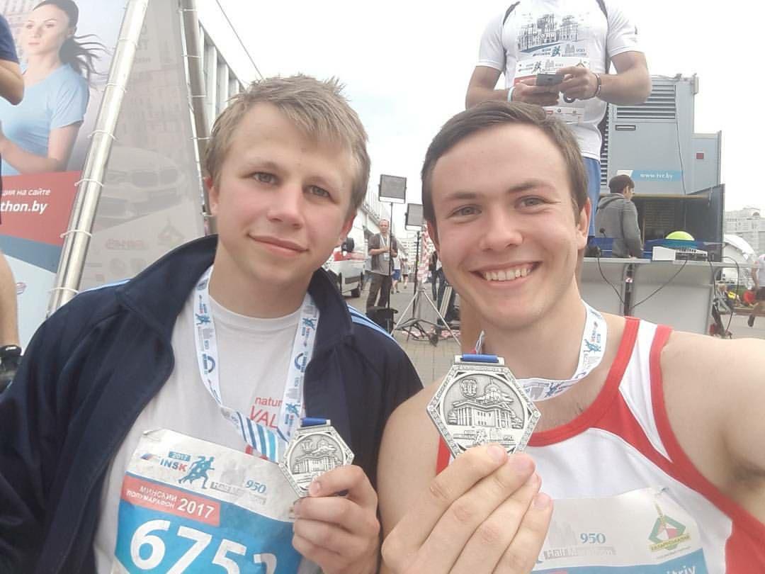Дмитрий Пацовский и Дмитрий Каптур. Фото со страницы Дмитрия Пацовского в Facebook