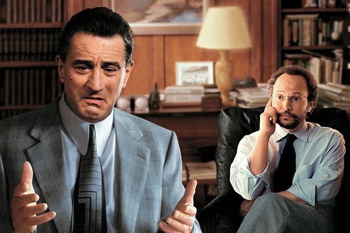 Кадр из фильма «Анализируй это», реж. Гарольд Рамис, 199 г.